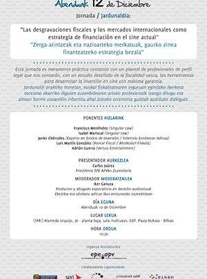 2012 Jornadas sobre financiación