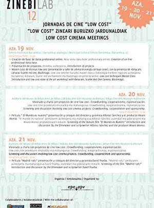 2012 Jornadas sobre cine low cost